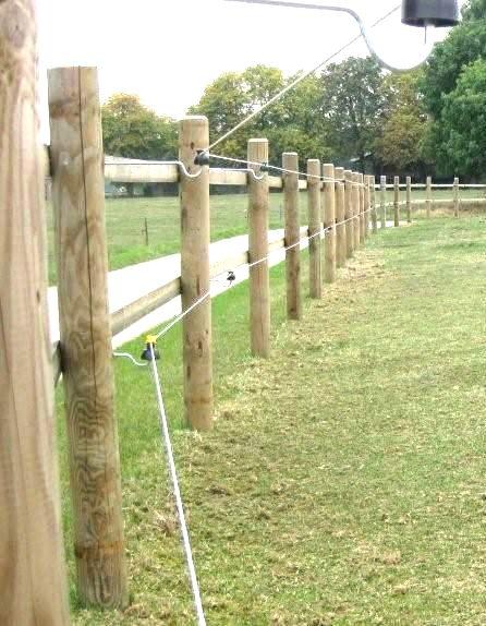 Log Pole Fence ~ Roundwood fencing machined poles horse